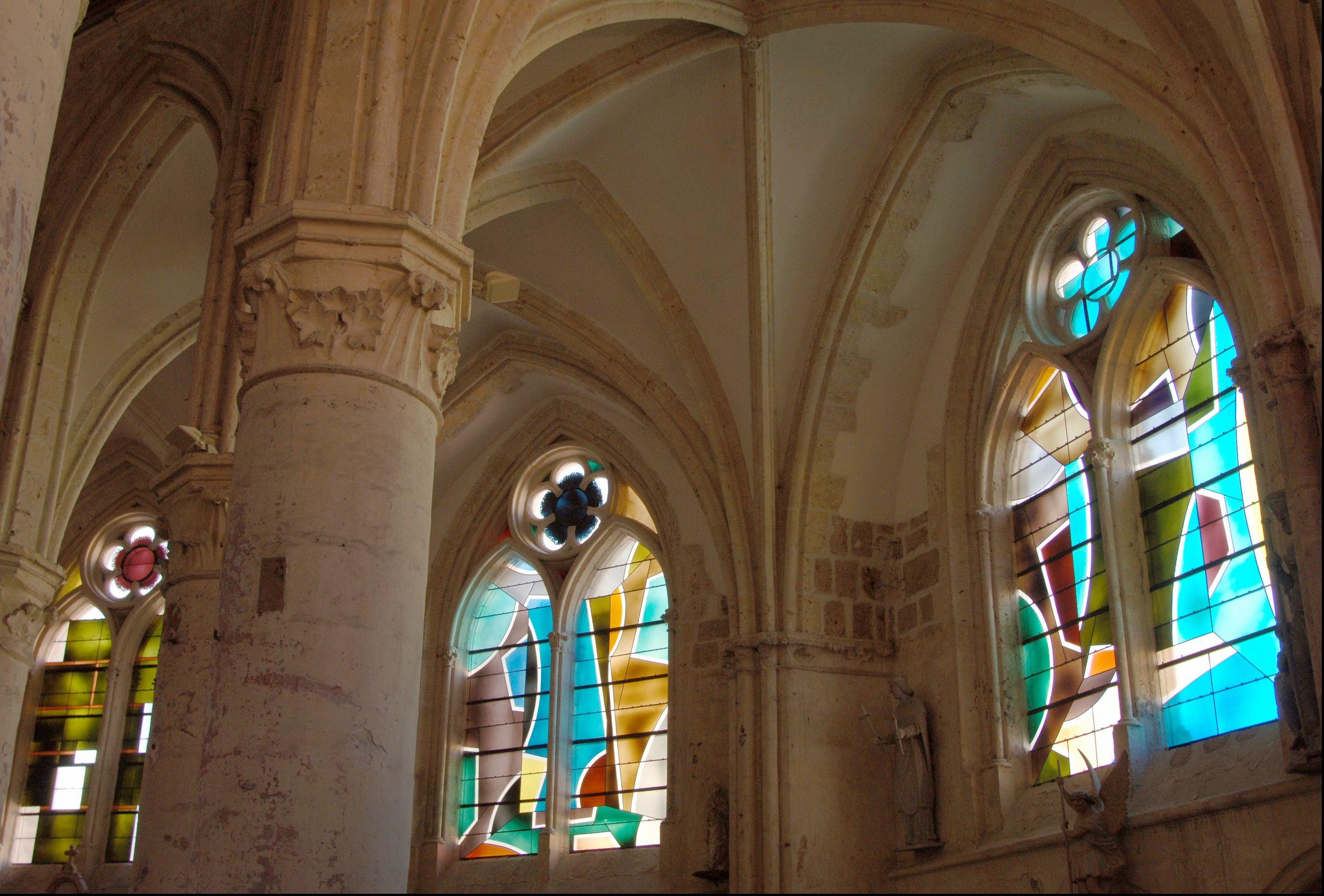 Vitraux de l'église@Saint-Pierre-et-Saint-Paul@de Villenauxe-la Grande