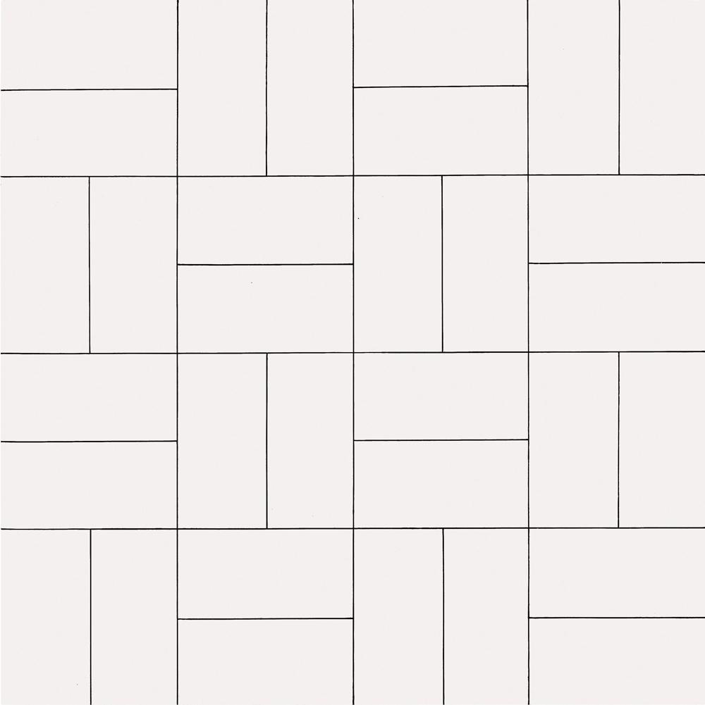 32 rectangles, (80 x 80 cm)