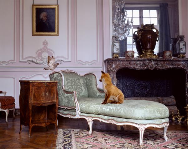 Salon Lilac Louis XV, musée Carnavalet, série Fables