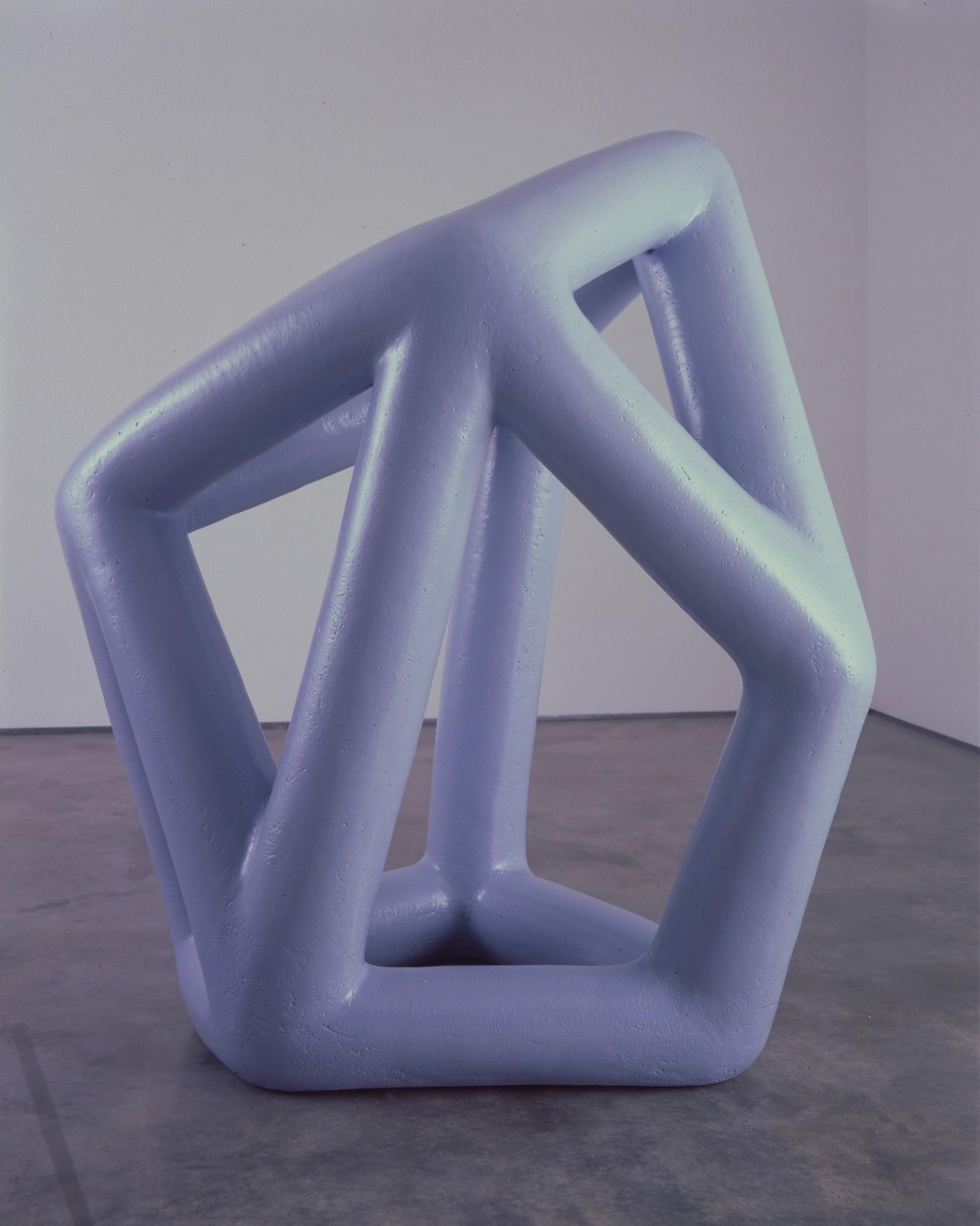 Kind of Blue A, céramique vernie, 149 x 102 x 80 cm