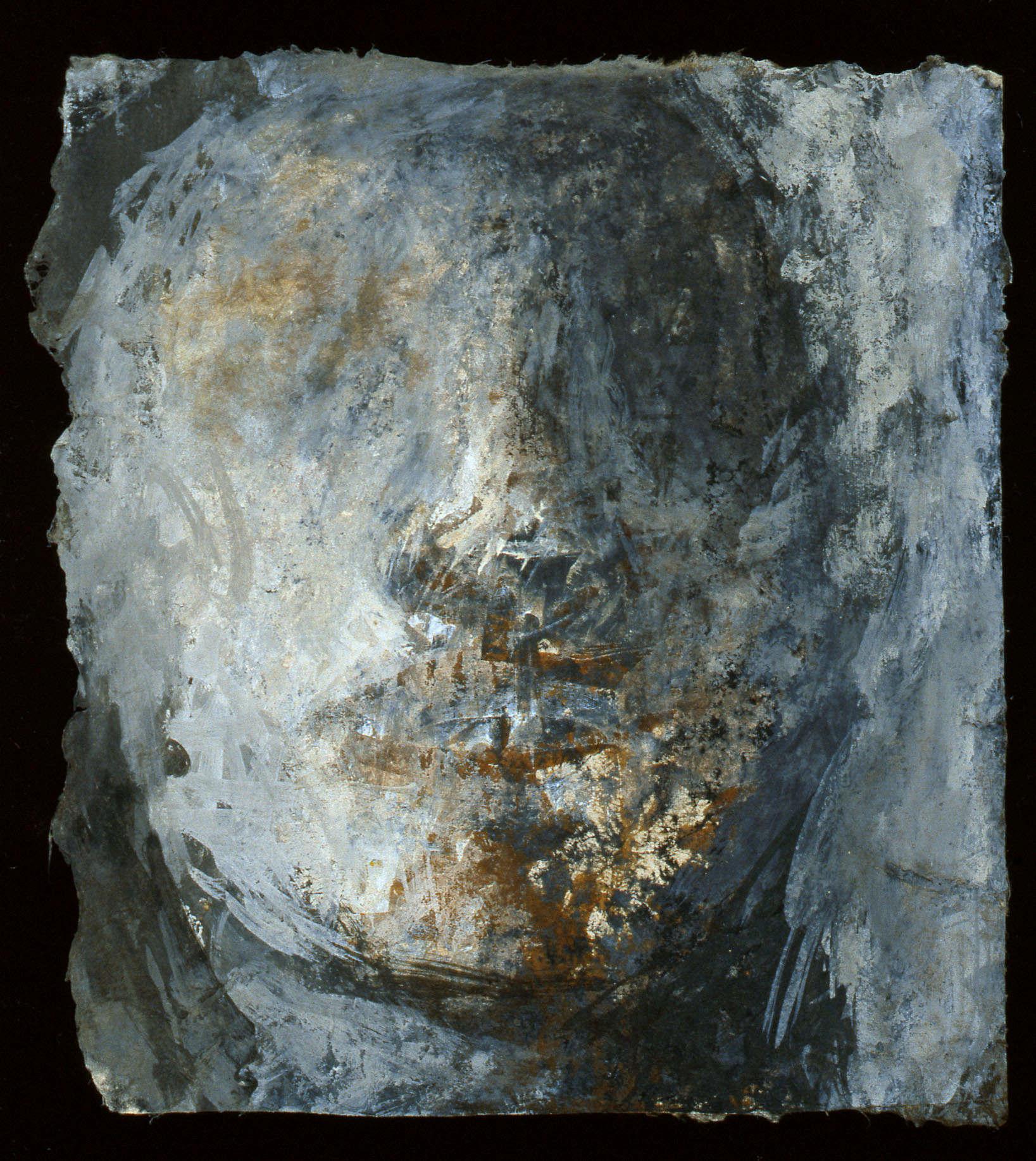 Figure I, technique mixte sur papier (15 x 18 cm)