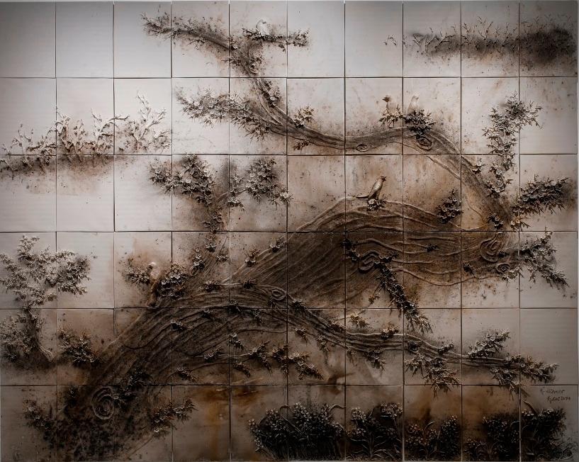 « Winter », partie de l'installation « Spring, Summer, Fall, Winter », Cai Guo-Qiang