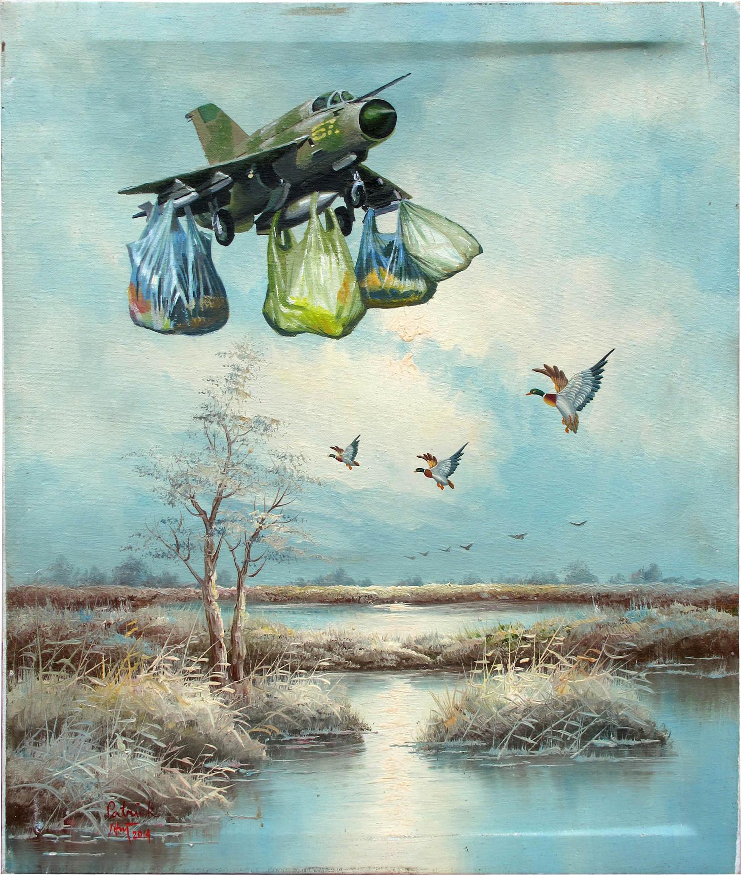 Lâcher d'ordures