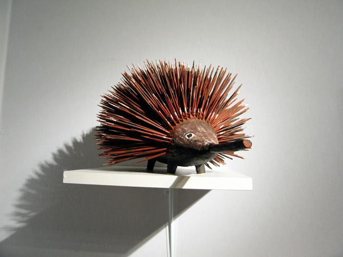 Sculpture hérisson