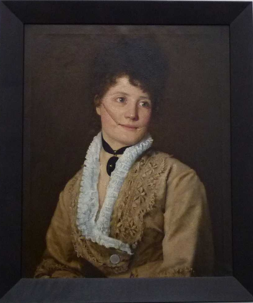 Abigail, huile sur toile (61 x 71 x 5 cm), Pavillon autrichien, Venise