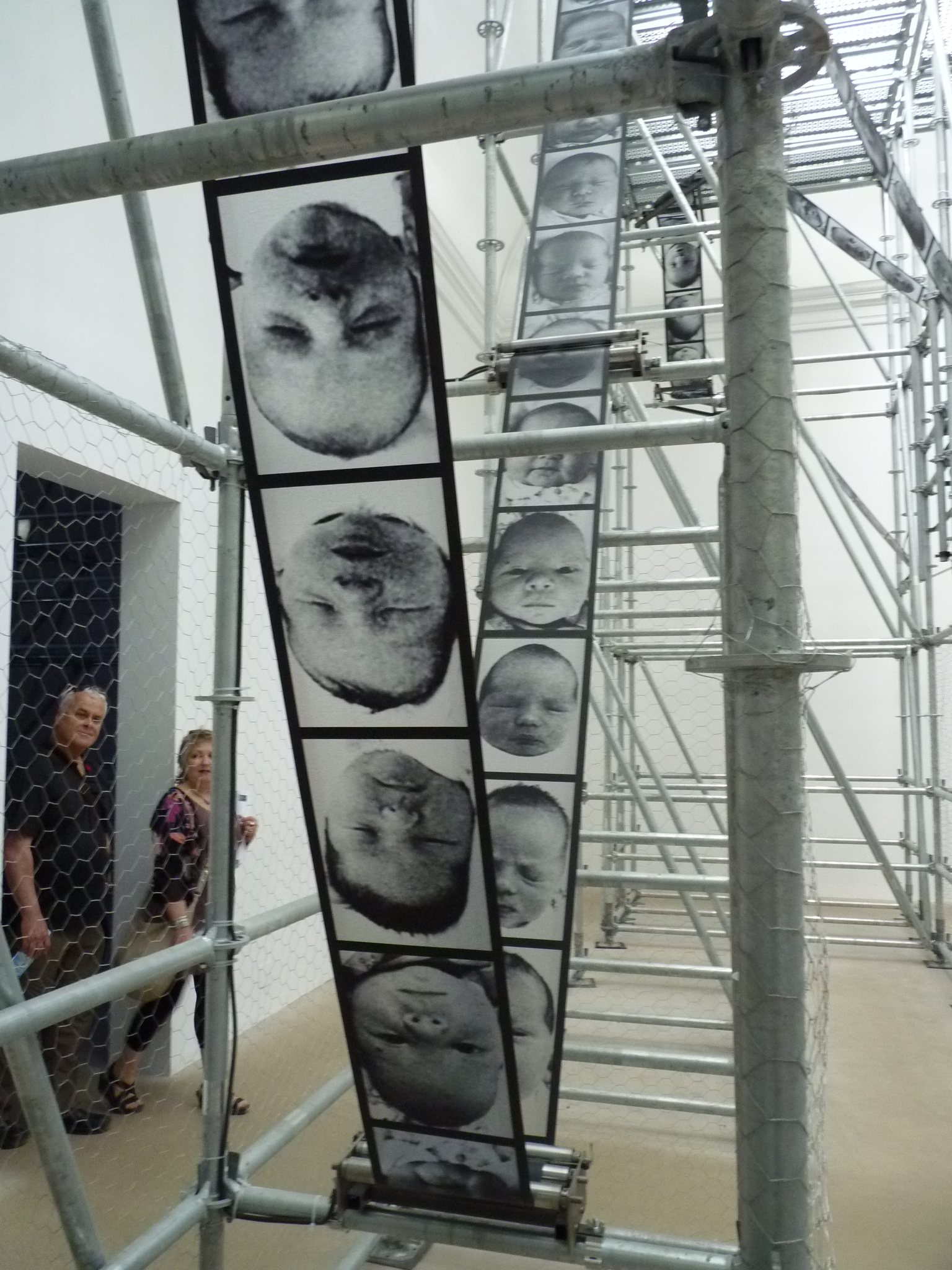 La roue de la chance, installation, Pavillon français, Venise