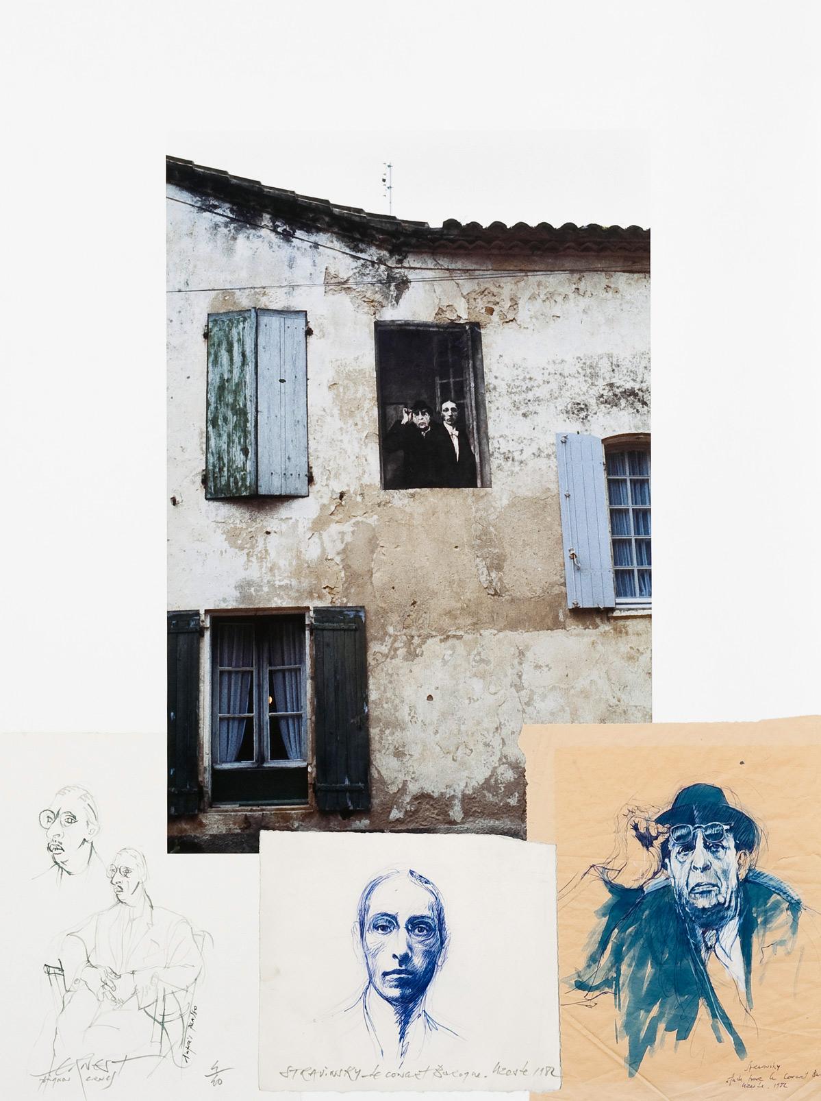 Stravinsky, Concert baroque (1982), estampe numérique pigmentaire, 40 exemplaires (80 x 60 cm)