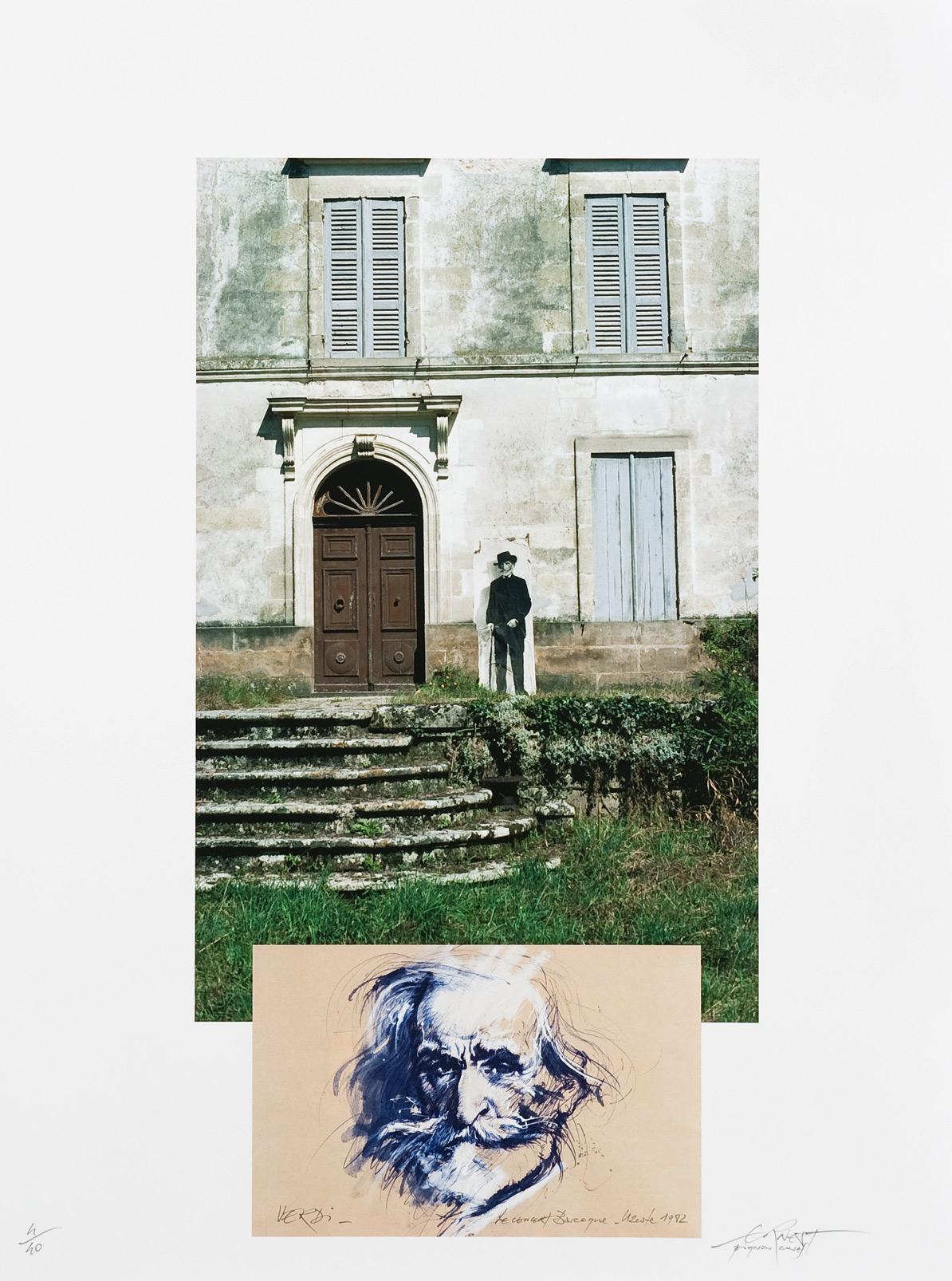 Verdi, Concert baroque (1982), estampe numérique pigmentaire, tirage 40 exemplaires (80 x 60 cm)