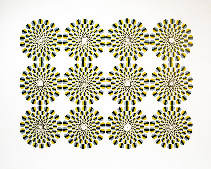 Ida Tursic & Wilfried Mille | Les douze cercles rotatifs | 2007