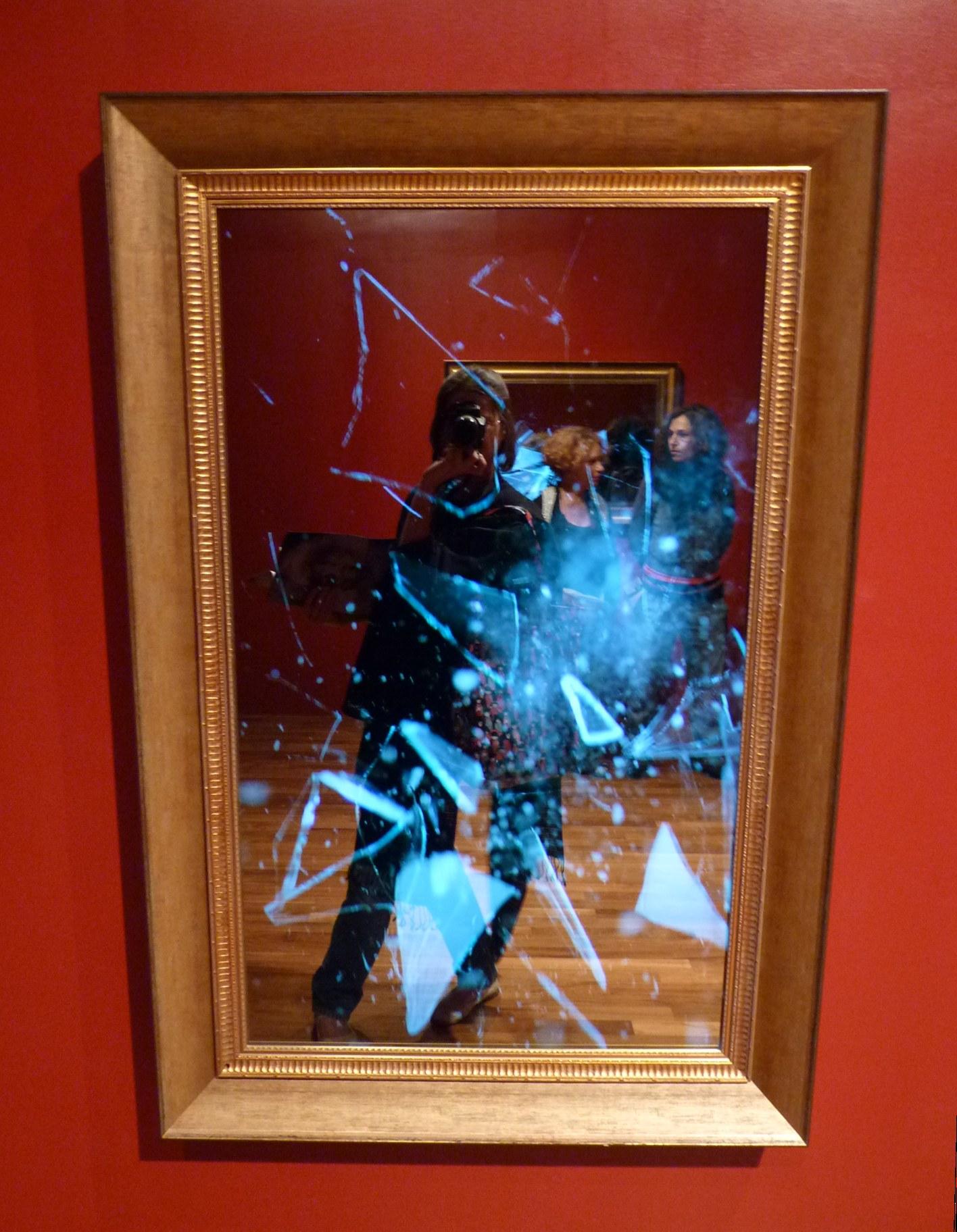 Broken mirror, installation vidéo, Pavillon coréen, Venise