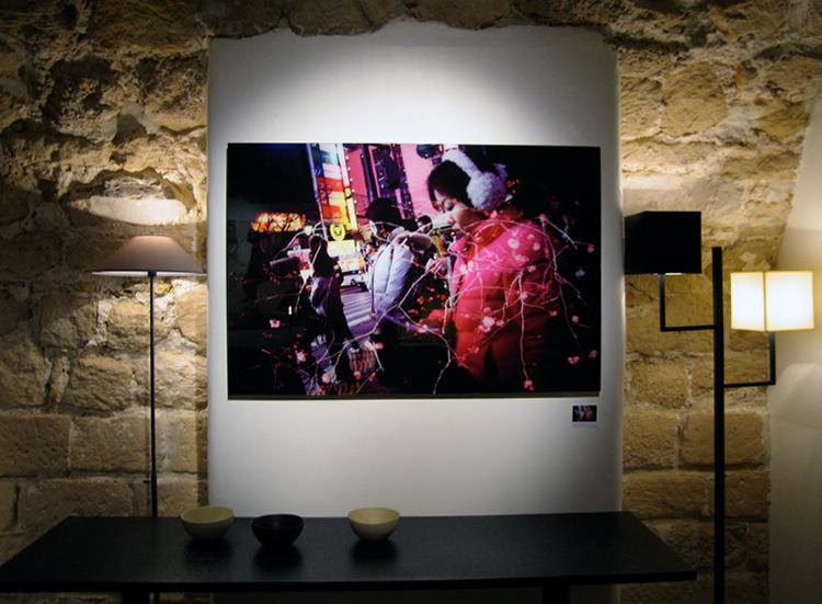 | Fabien Lemaire expose@ chez Julie Prisca. |