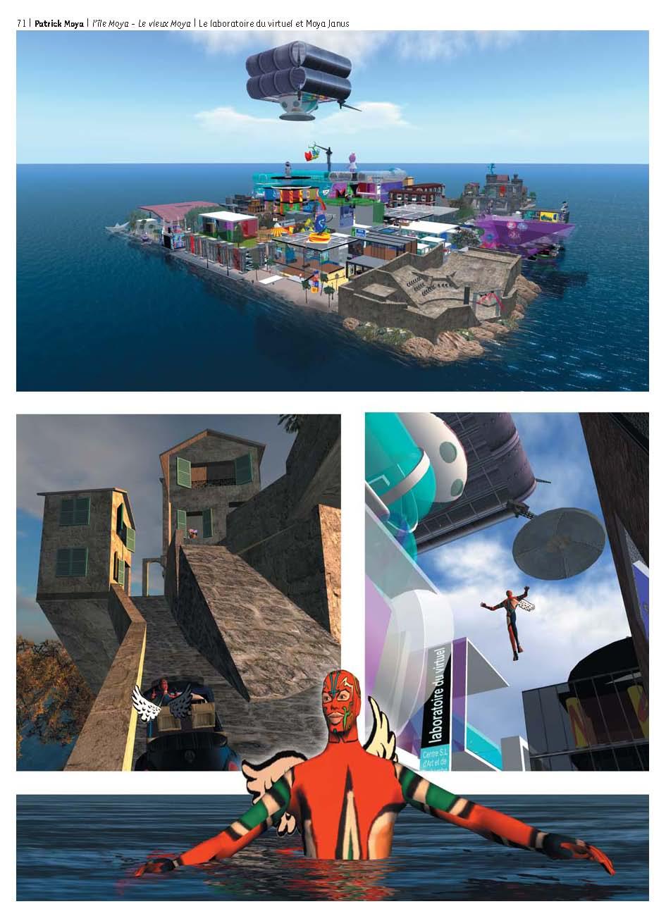 L'île Moya, Le vieux Moya, Le laboratoire du virtuel@et Moya Janus