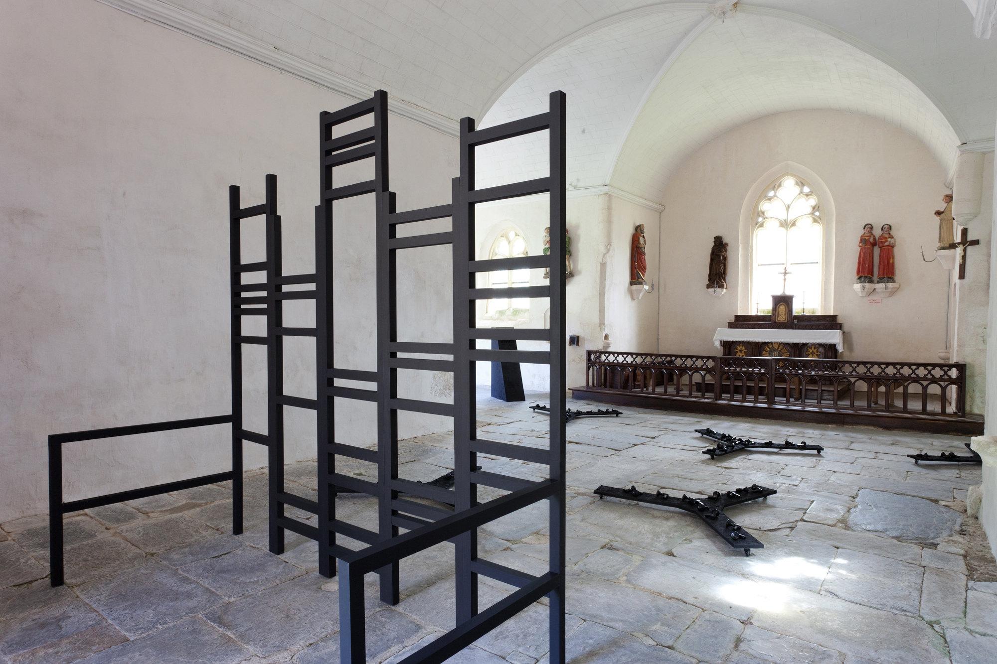 Ultra Vox, installation, chapelle Saint-Drédeno (Saint-Gérand)