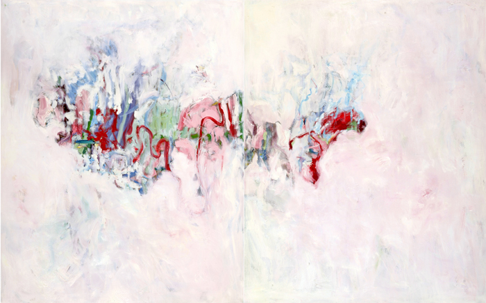Pascal Pesez | |Les délices,  diptyque (250 x 400 cm)  | 2005-2006