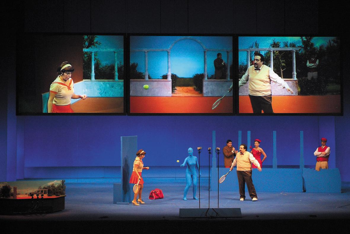 La Pietà del Paragone @de Rossini mise en scène par@ Pierrick Sorin