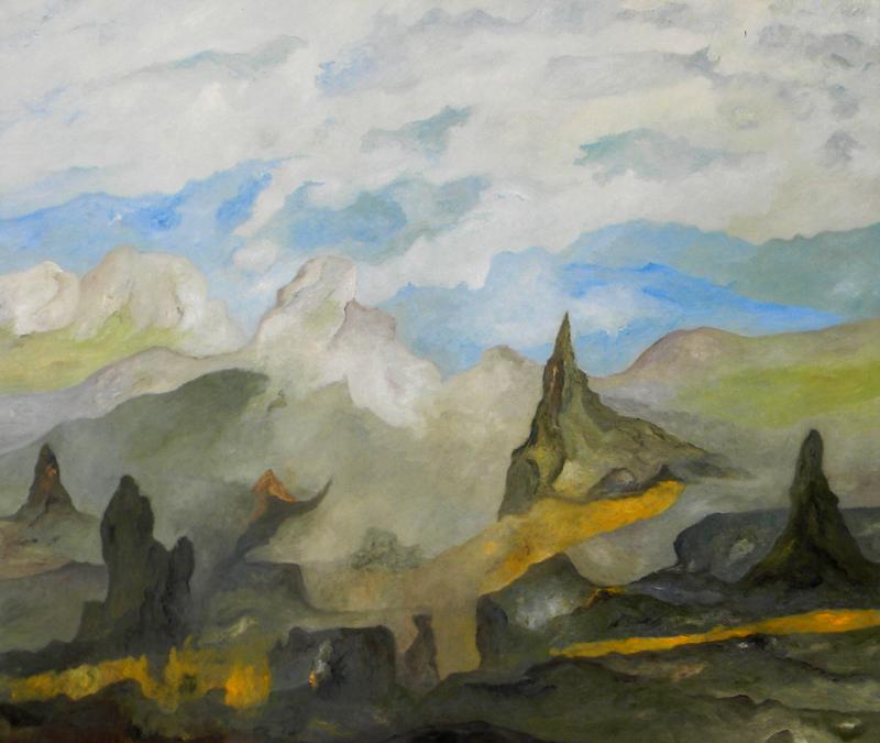 Jean Whettnall| Huile sur toile, 99 X 86 cm |
