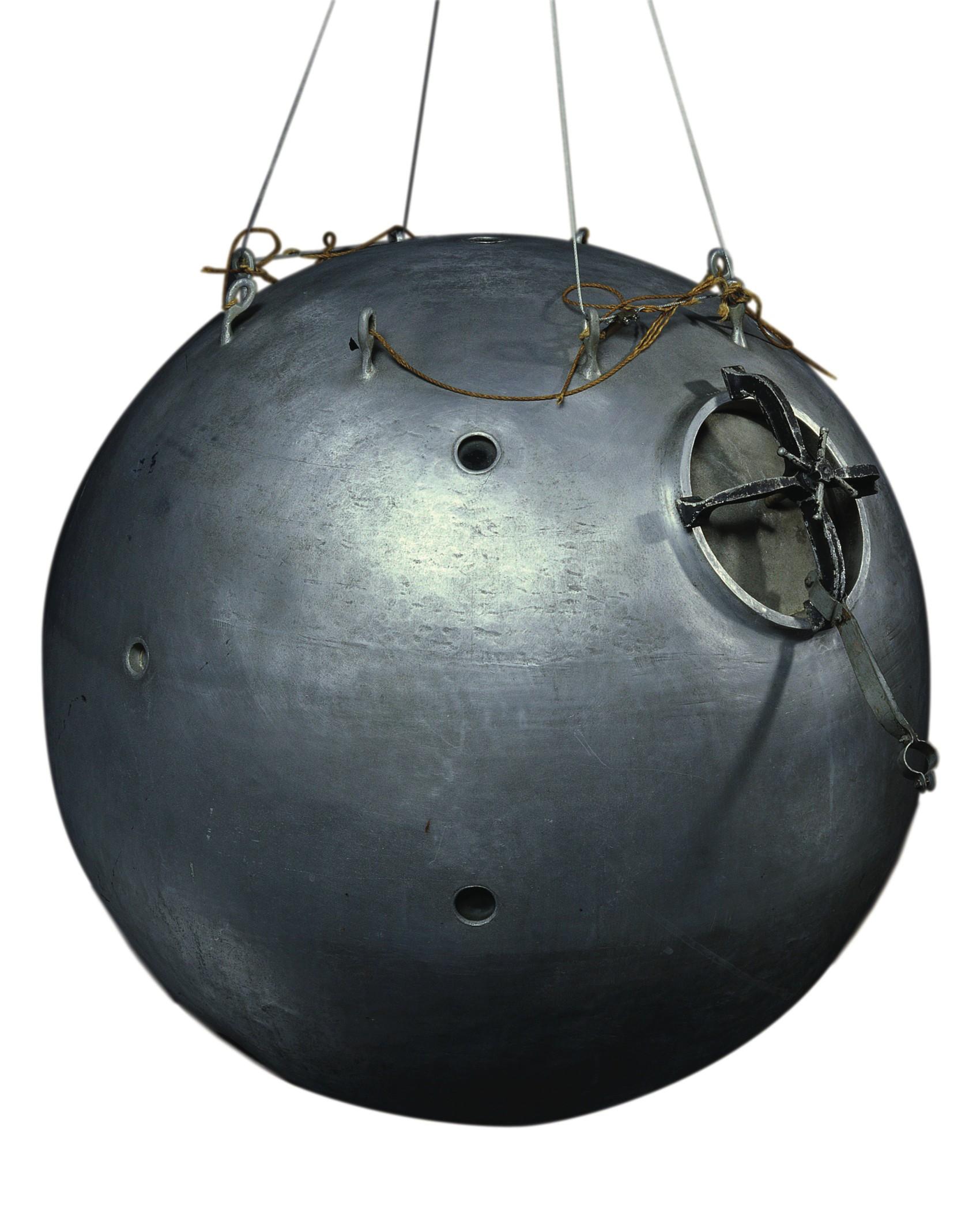 Ballon-annihilateur de mines volantes@(nacelle de ballon stratosphérique, 1931)