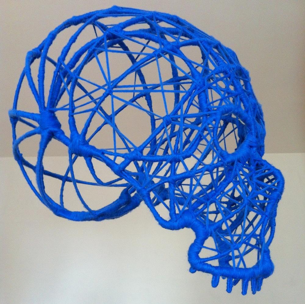 Crâne bleu