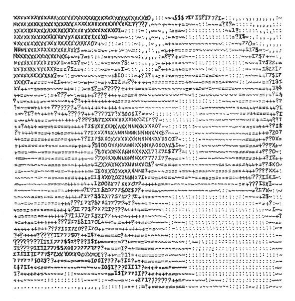 A l'œil nu, feutre sur papier, dessin préparatoire (20.35 x 20.85 cm)