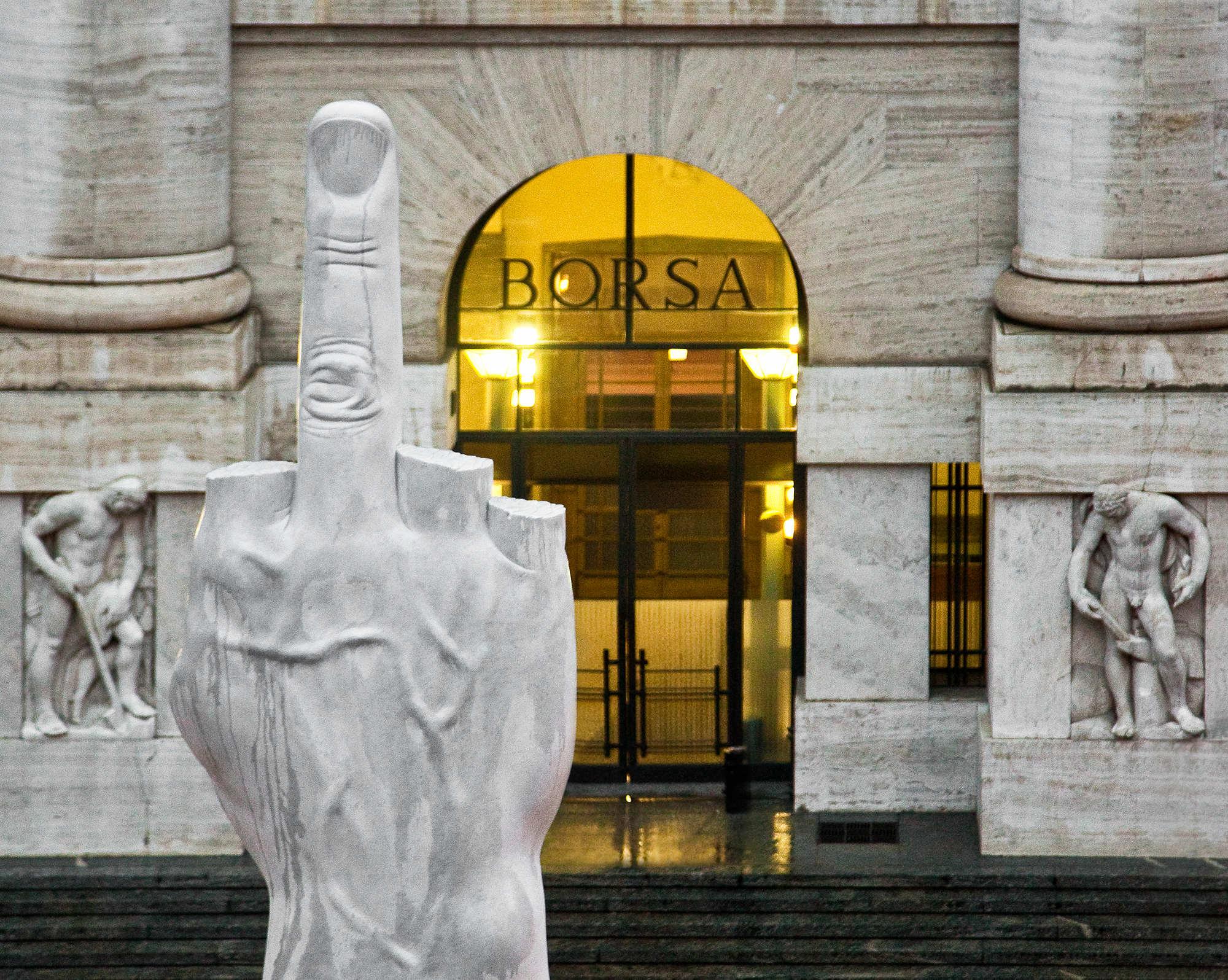 L.O.V.E., marbre de Carrare