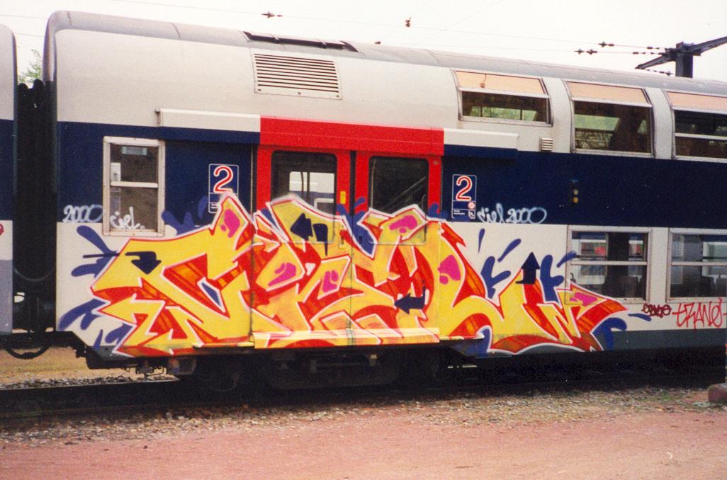 Intervention sur une rame du RER C