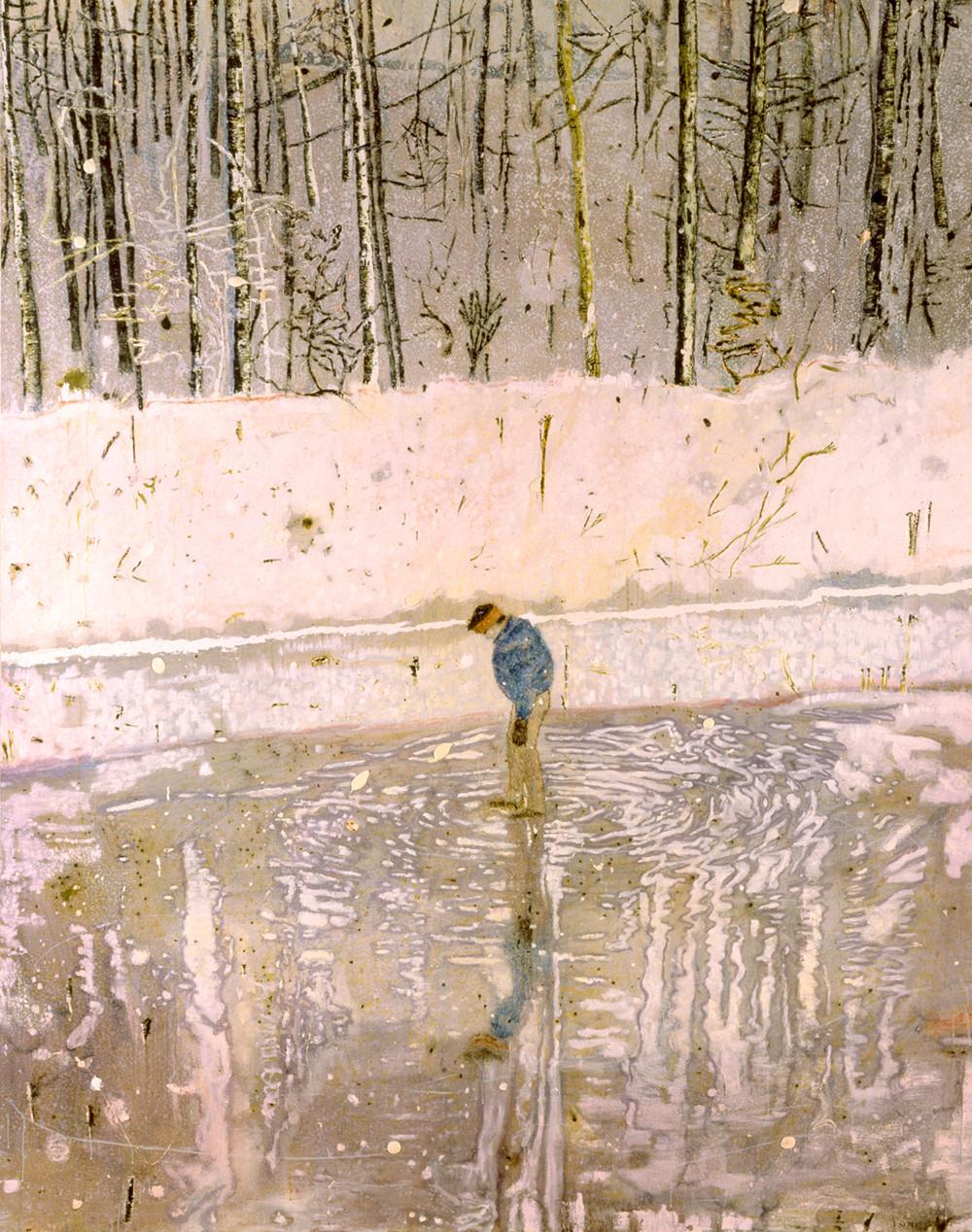 Blotter, huile sur toile (249 x 199 cm)