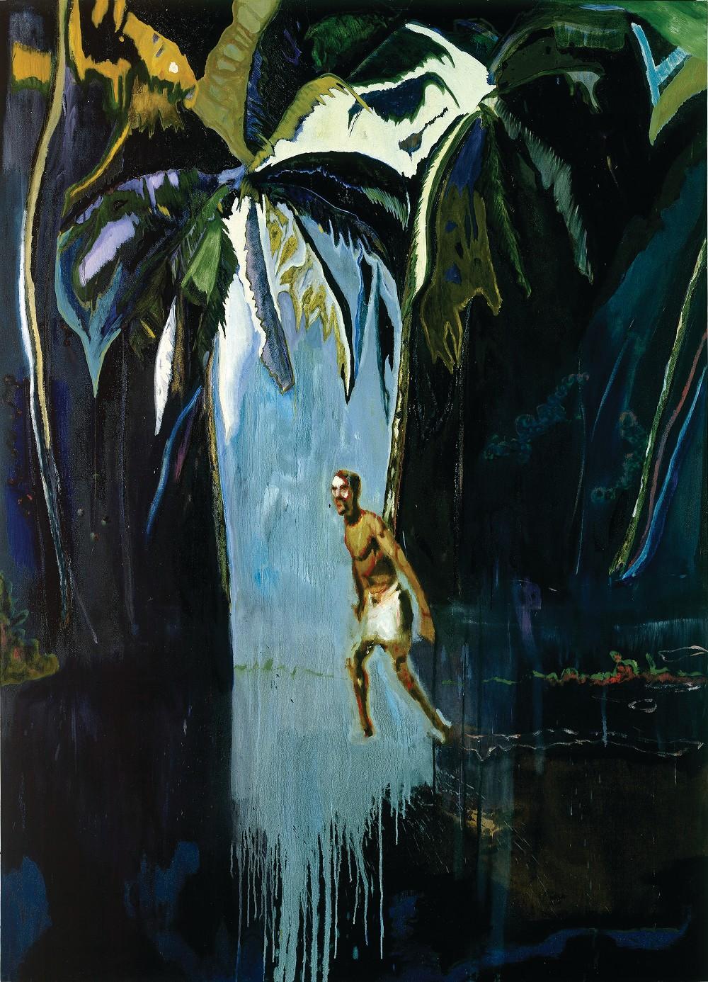 Pelican (Stag), huile sur toile (276 x 200.5 cm)