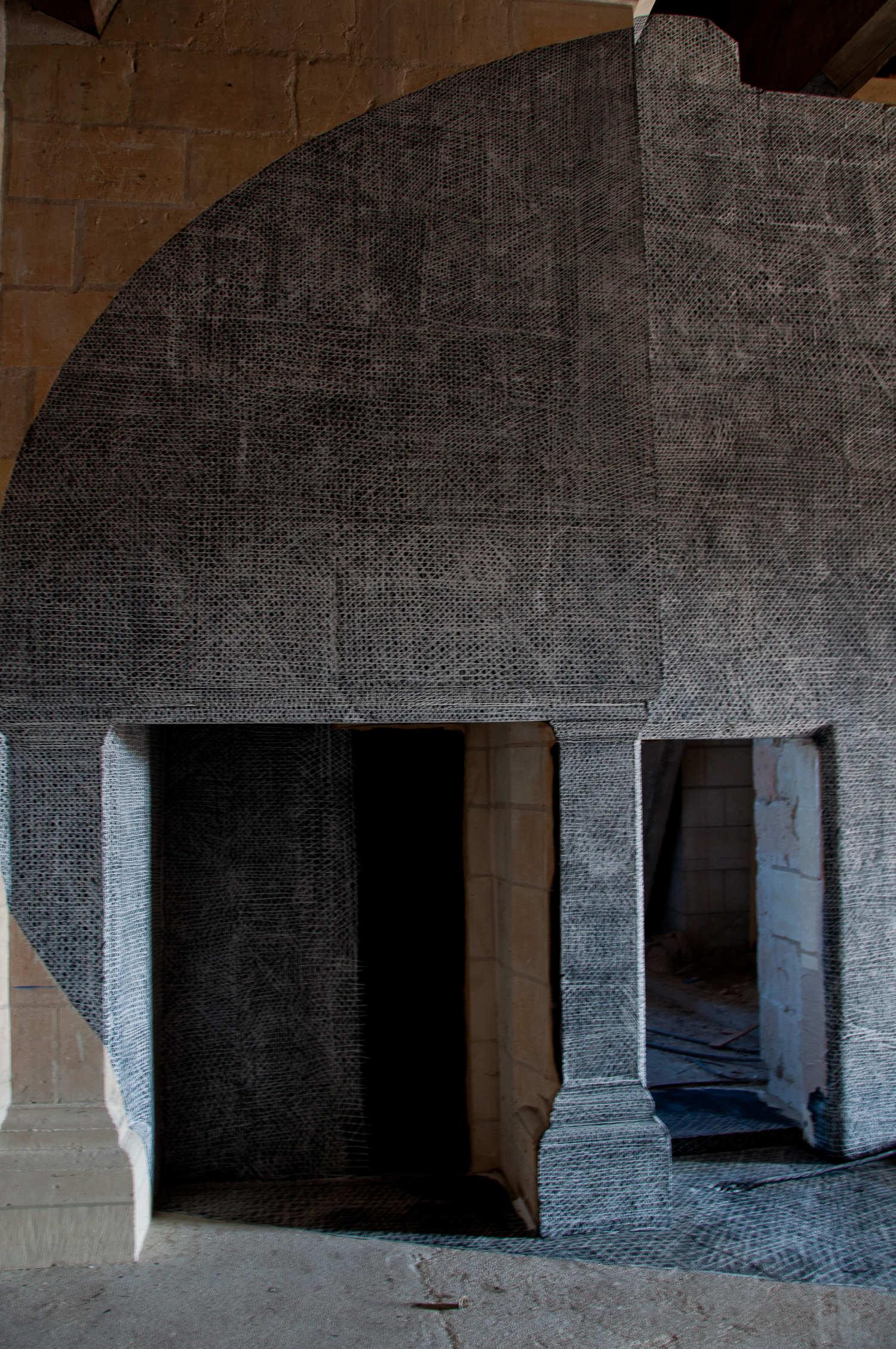 Installation 3, Chambord (détail)
