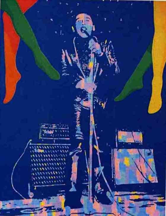 Gene n°1, acrylique sur toile