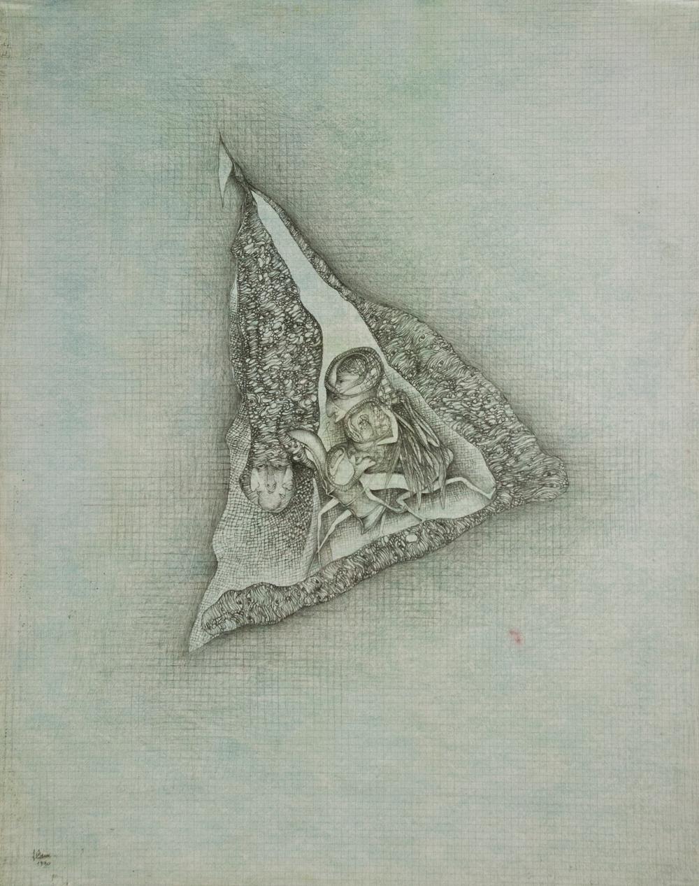 L'essence, crayon (51 x 65 cm)