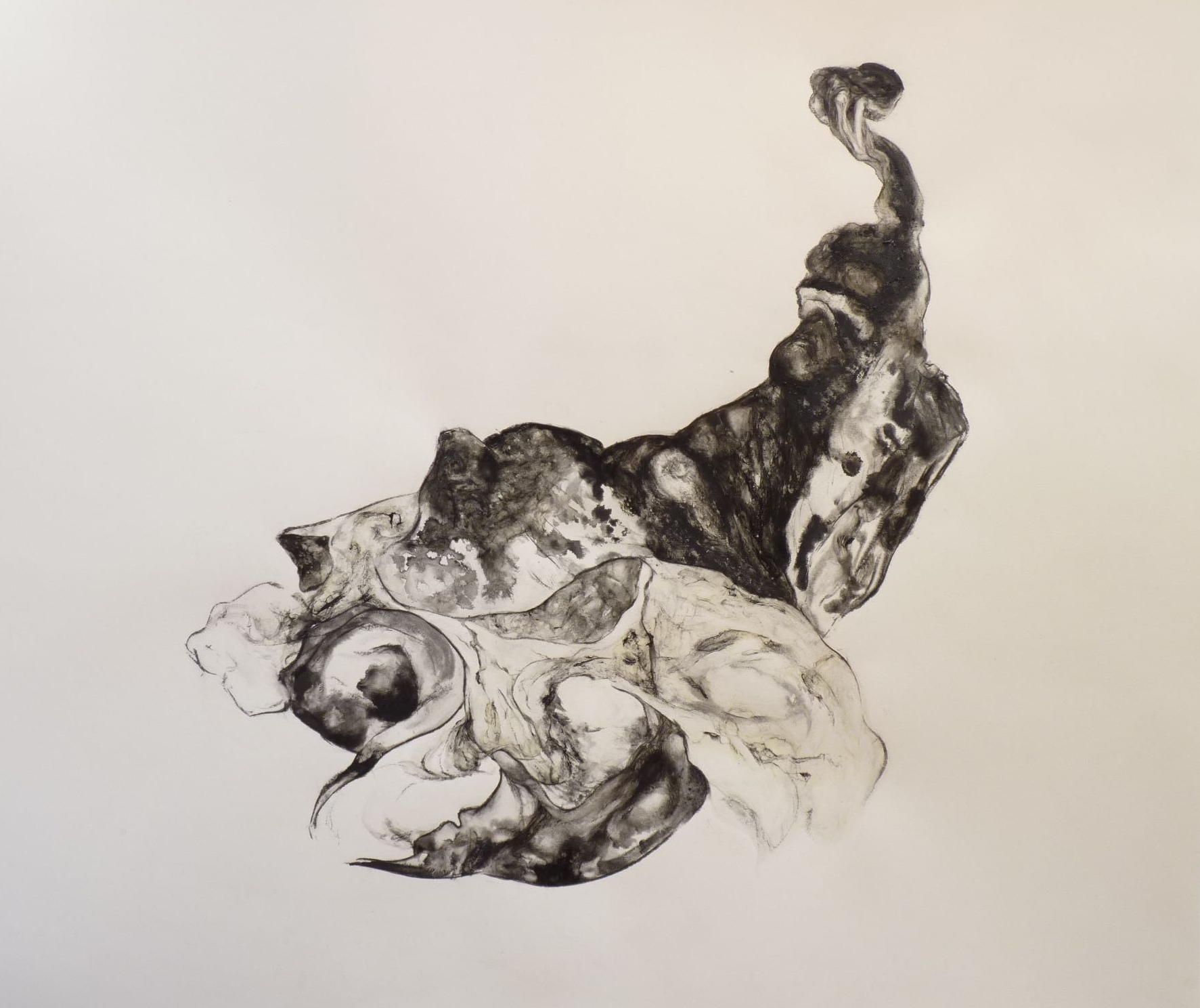 Dessin signé Michel Soudée, galerie Séquence Graphique ||