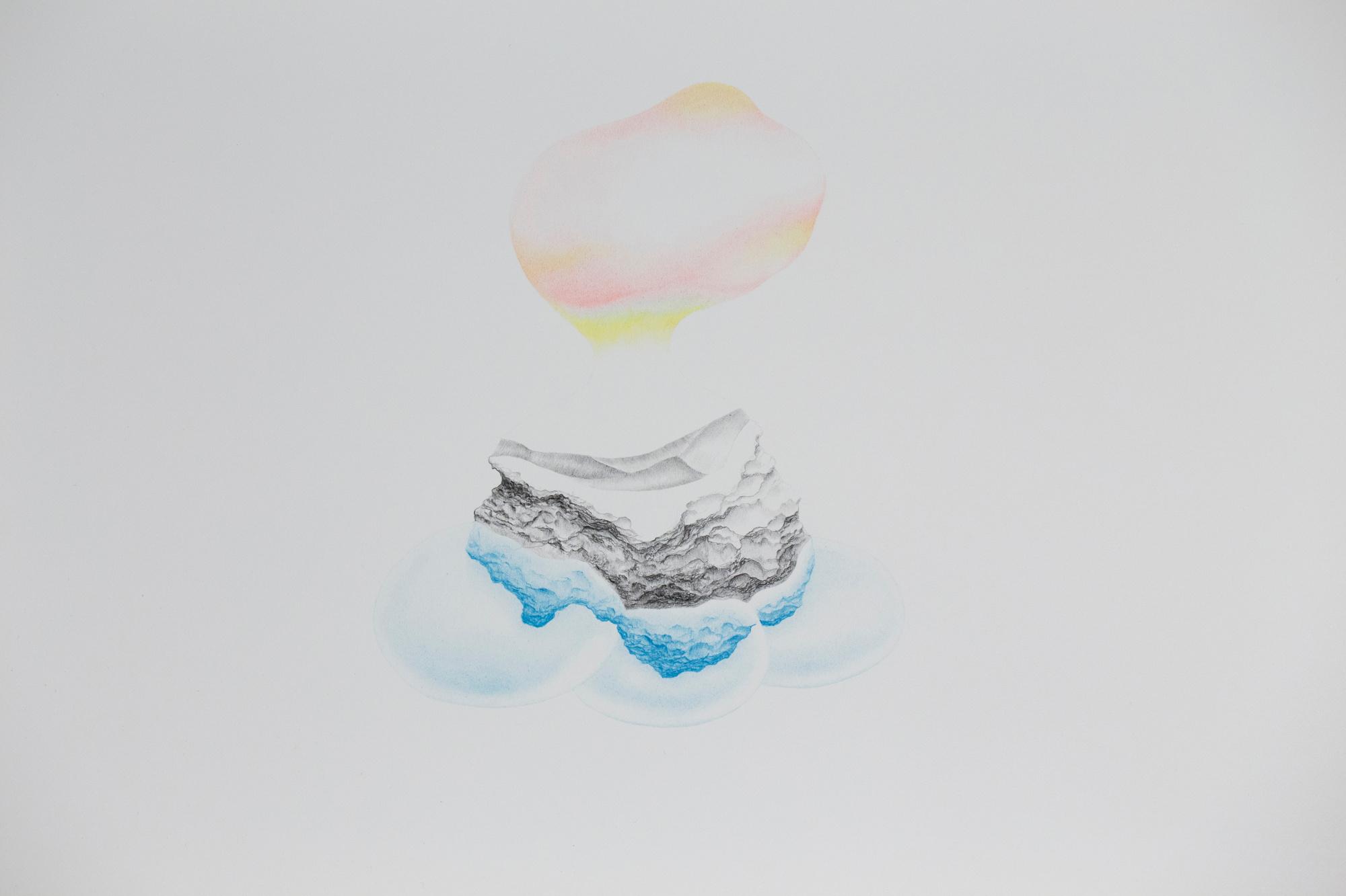 Sans titre, encre et crayon (40 x 30 cm)