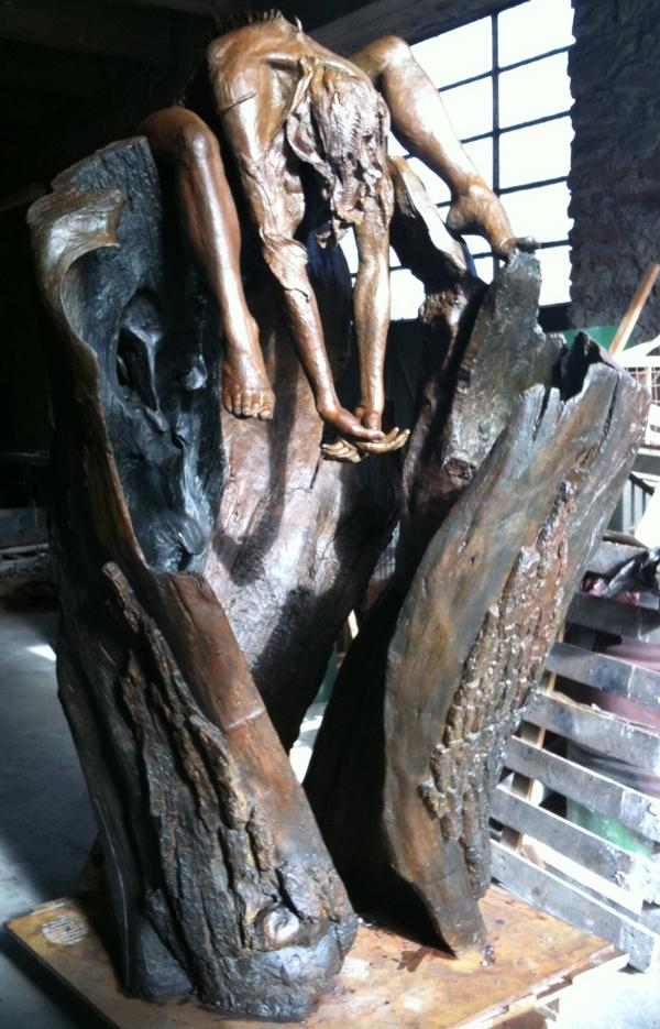 La Nymphe du Cher, 210 x 100 cm