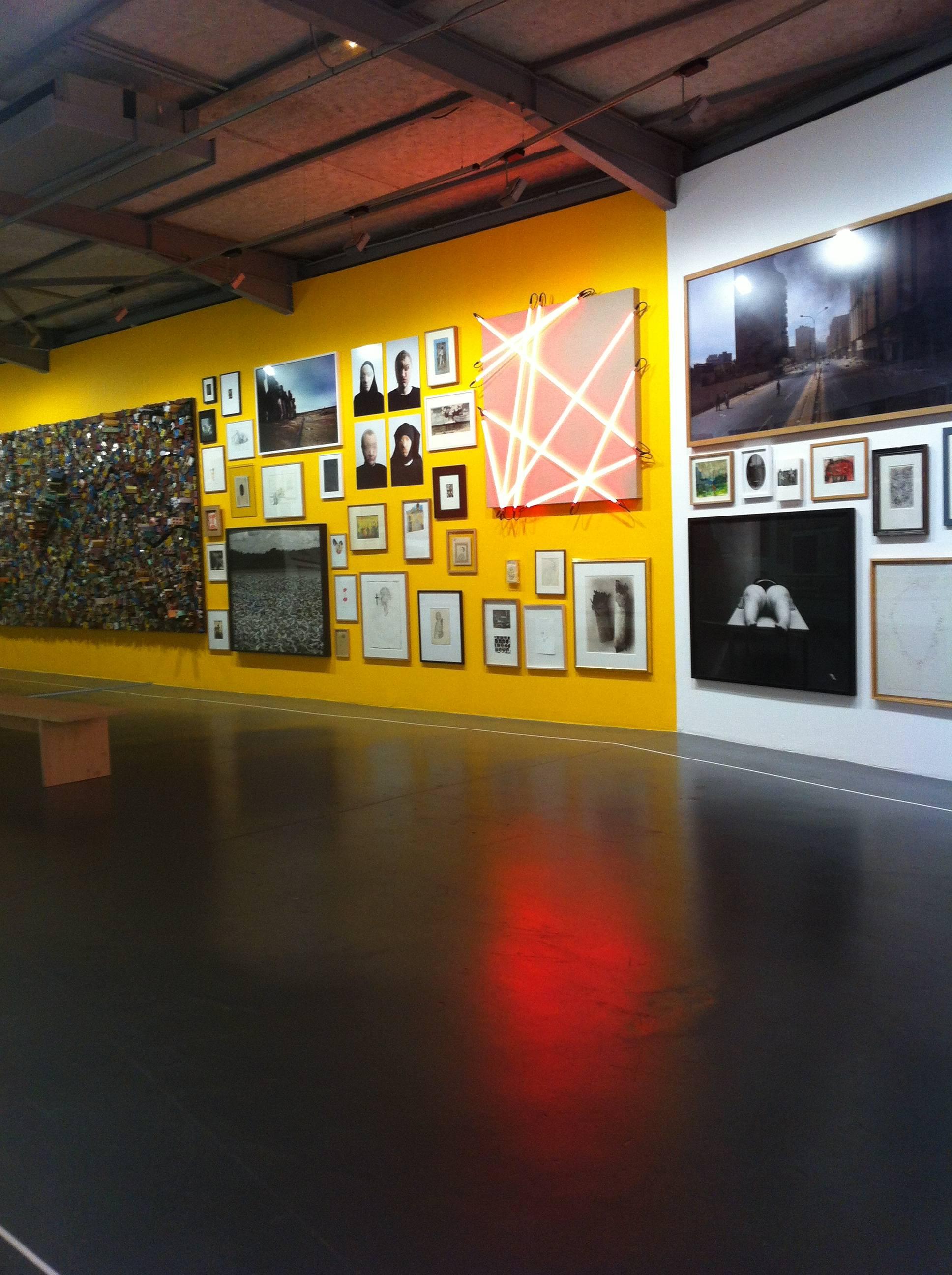 Vue de l'exposition le Mur