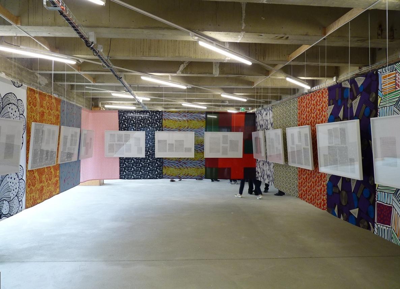 Prelinger Drawings, installation