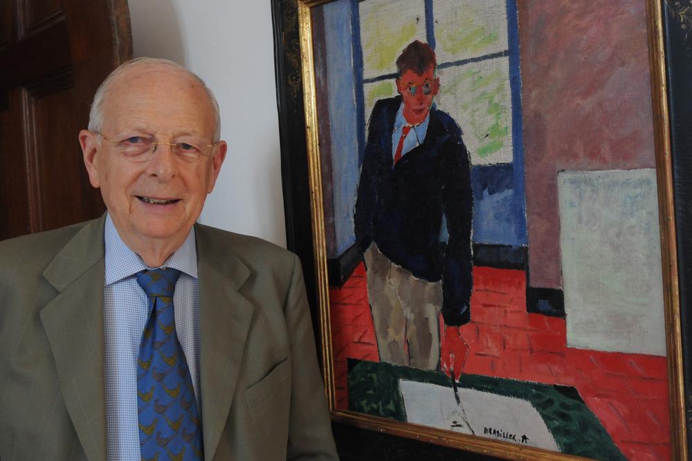 Portrait de l'artiste