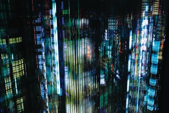Tokyo Layers #2 (60 x 90 cm@ou 100 x 150 cm)