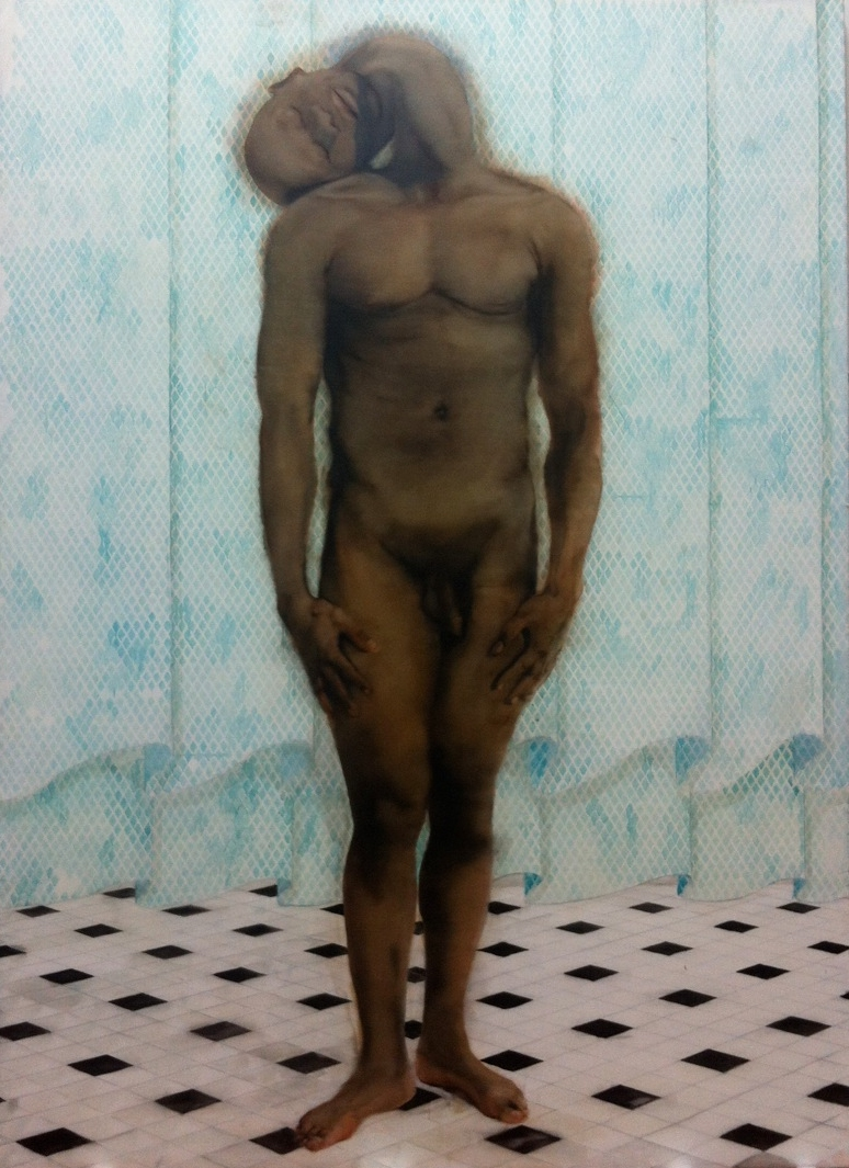 Nu, huile sur toile (210 x 290 cm)