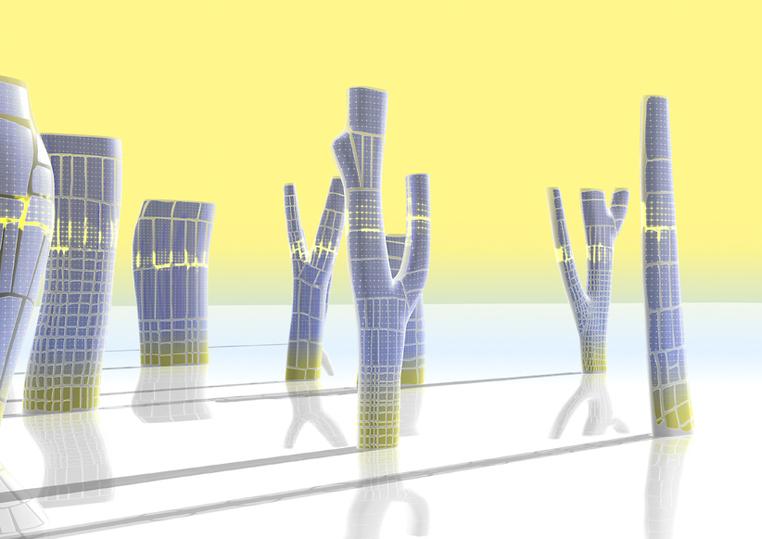 Spring City, animation numérique