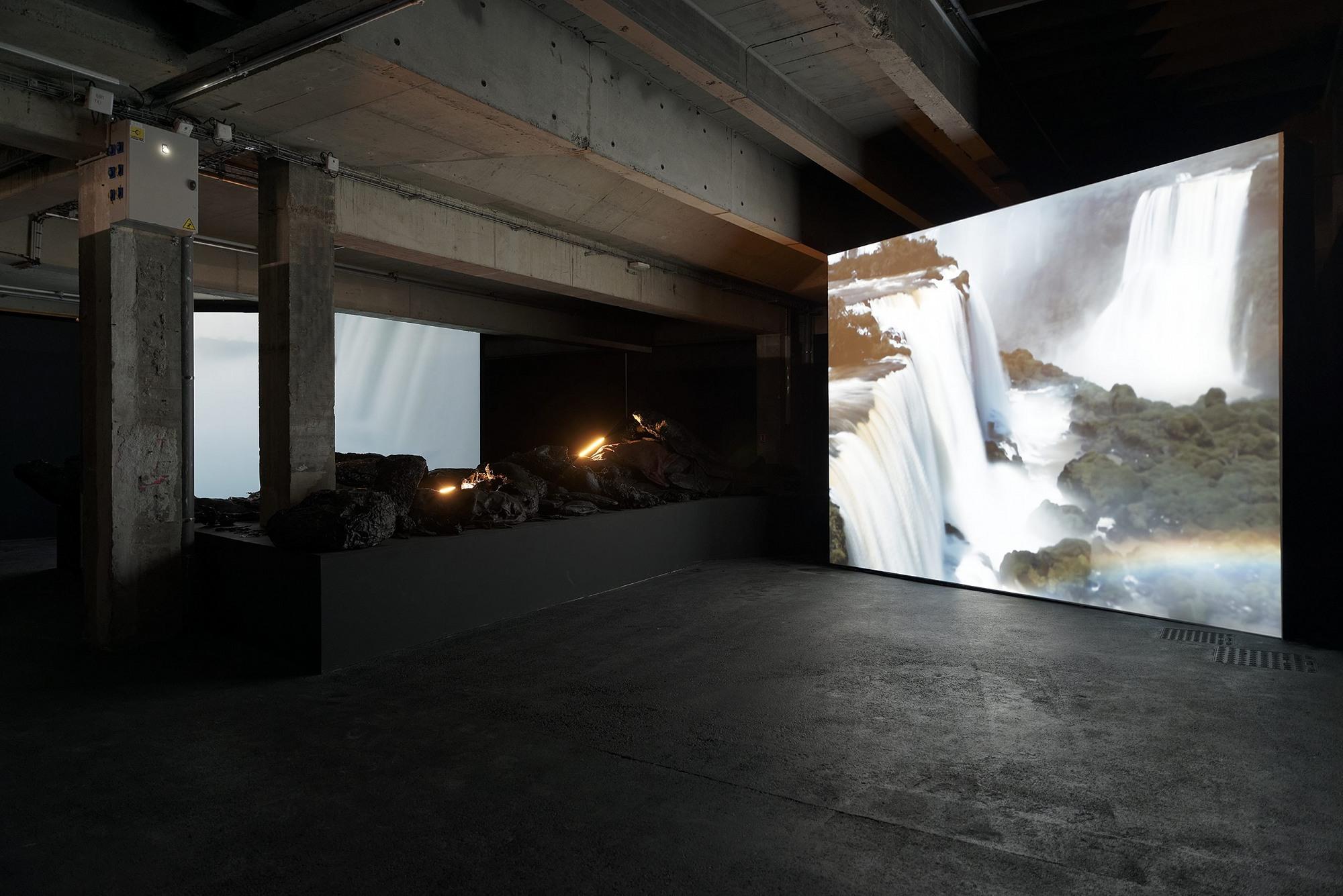 Gorge du diable, vue de l'exposition Terre de départ, dans le cadre de la saison L'Etat du ciel