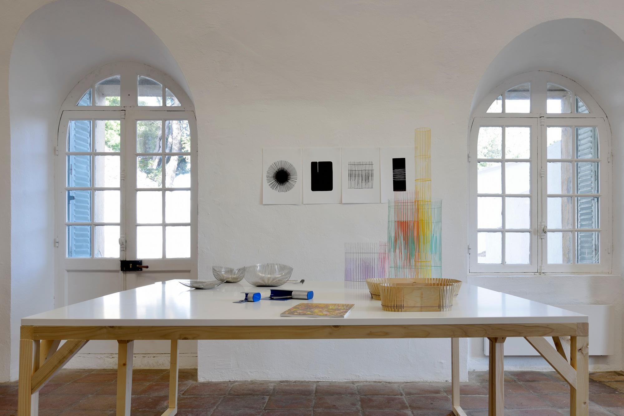 Vue d'exposition, Design Parade 7 à la Villa Noailles