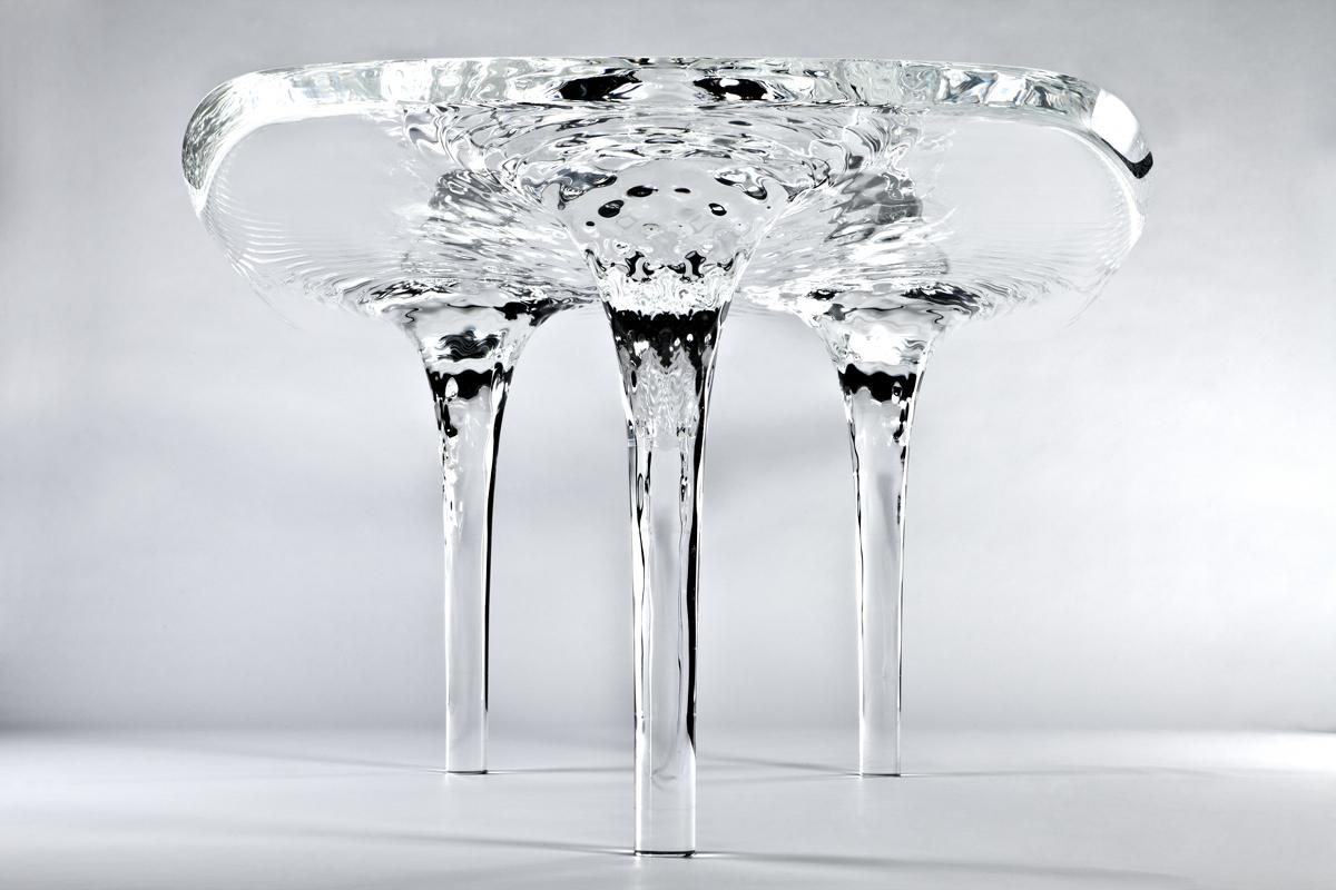 Table Liquid Glacial
