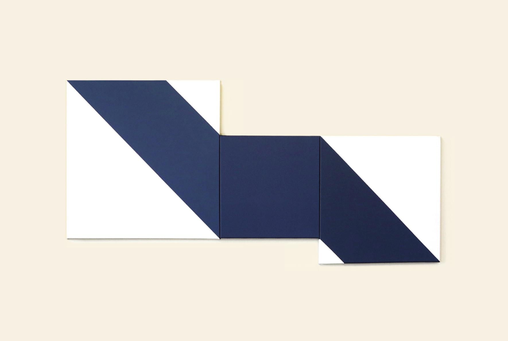 Triptyque Bleu 3